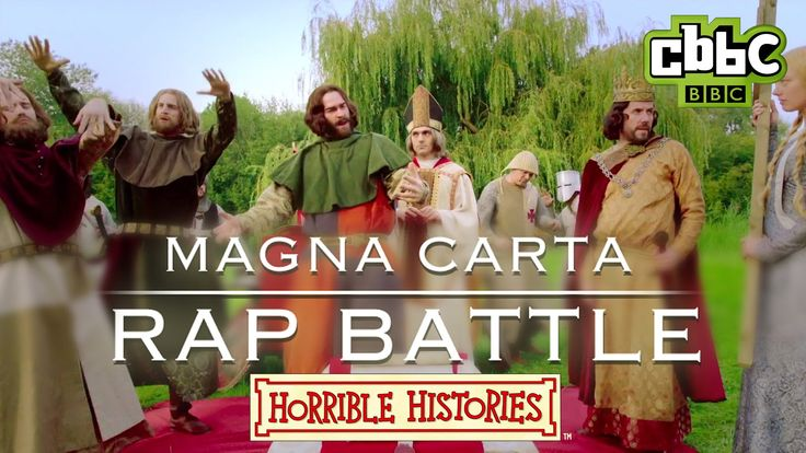Watch this epic rap battle between the Noble Men of England (The Barons) and King John as they go head to head over the Magna Carta in Runnymede, Surrey. Hea...