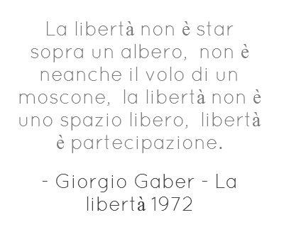 Giorgio Gaber.
