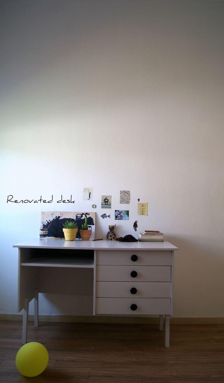 Renovated desk