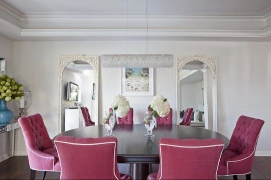 Chic Color Combo: Pink, White & Grey
