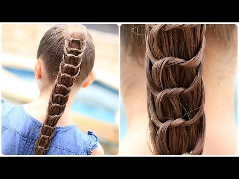 4Sisters - Waterval vlecht - YouTube