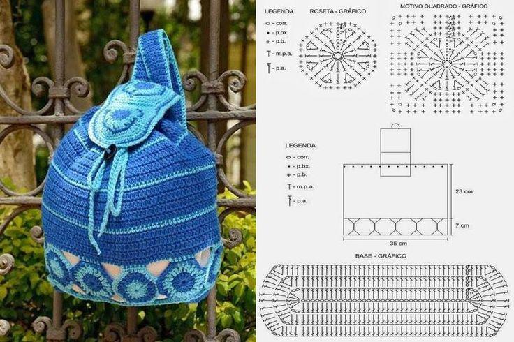 Handmade Kids Bags (3) - Knitting, Crochet, Dıy, Craft, Free Patterns