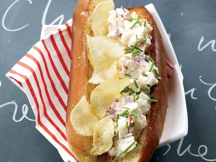 Deluxe Lobster and Potato Chip Rolls Recipe  - Jon Shook, Vinny Dotolo | Food & Wine