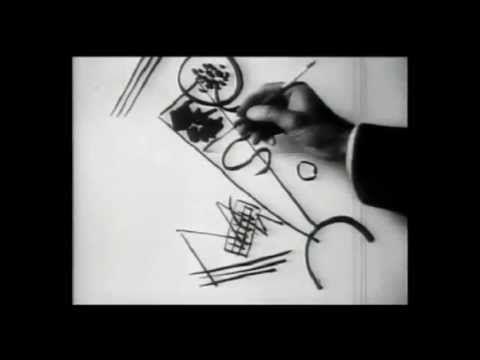 Kandinsky dessine . Musique improvisée par Frédéric Maintenant au piano électrique et Michel Batlle, guitare électrique. Paris 2012