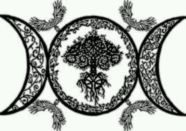 Triple goddess symbol   Tattoo ideas   Pinterest