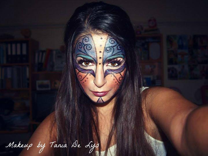 Mask makeup