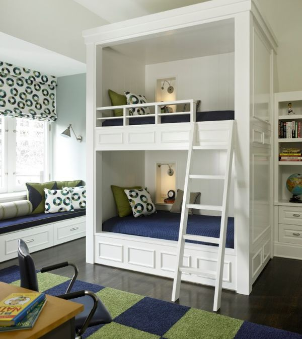 Great Best 25+ Unique Bunk Beds Ideas On Pinterest | Cabin Beds For Boys, Boys  Shared Bedroom Ideas And Shared Rooms