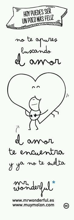 """No te apures buscando el amor"" by Mr. Wonderful"