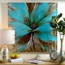 Resultado de imagen de pinturas al oleo de flores abstractas