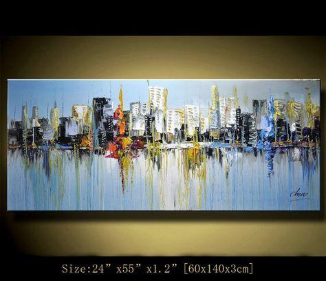 Original pintura abstracta pintura moderna Textured por xiangwuchen