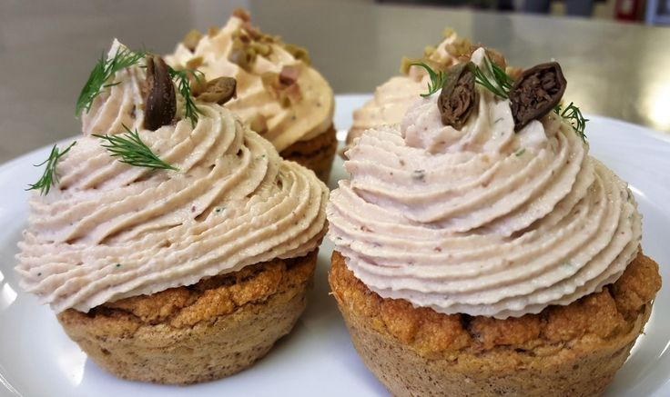 cup cake salati alle due mousse 5