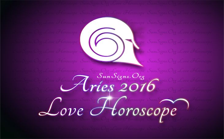 The 2016 love forecast for Arians foretells that singles will have plenty of romantic relationships.