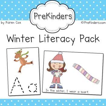 Winter Literacy Activities $5