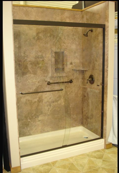 decorative interior shower tub wall panels this shower. Black Bedroom Furniture Sets. Home Design Ideas
