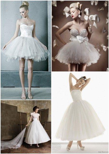 Black swan inspired weddings dresses