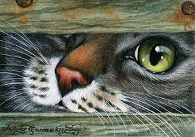 7 das Artes: Belíssimos gatos de Irina Garmashova.