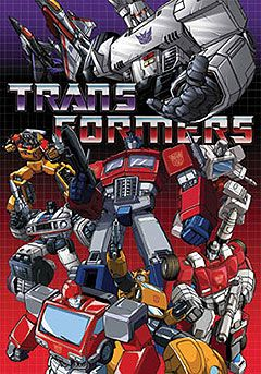 Transformers (Generation one). This cartoon airs on the HUB channel Mon-Thurs @ 11pm.