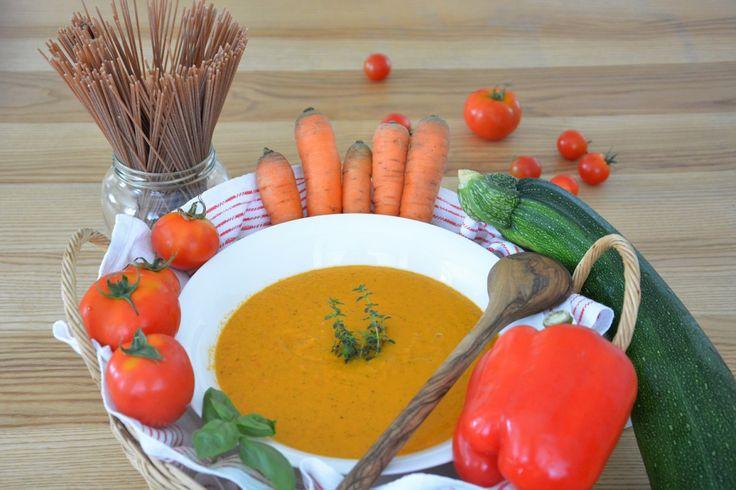 Mein Sahneersatz heißt weißes Mandelmus und Rezept für italienische Gemüsecremesauce