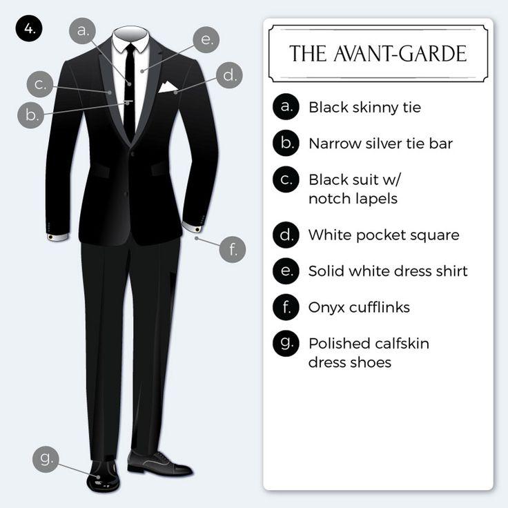 Dress code black tie meaning