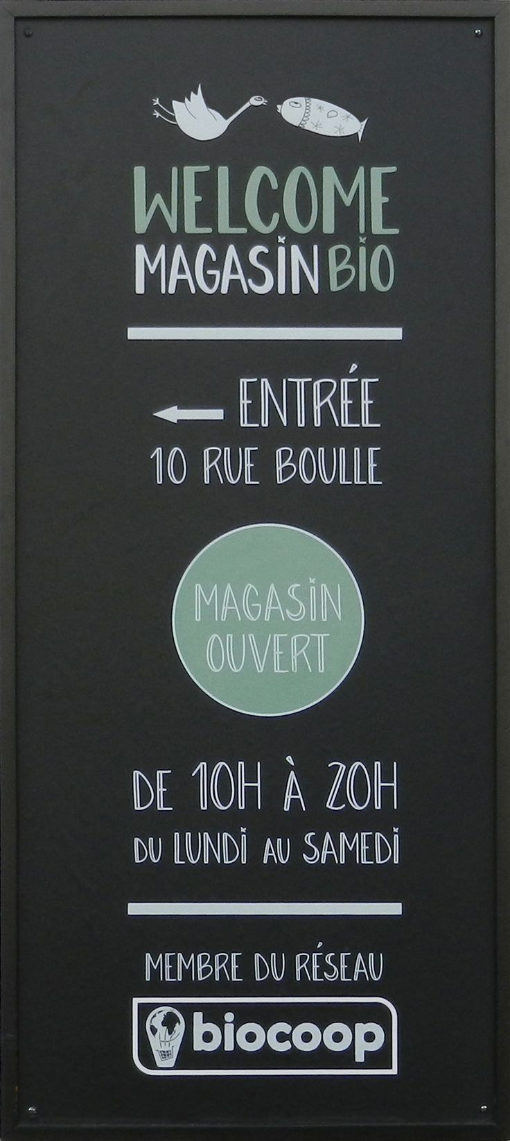 Welcome Magasin Bio 10, rue Boulle, 75011 Paris  http://welcomebio.fr