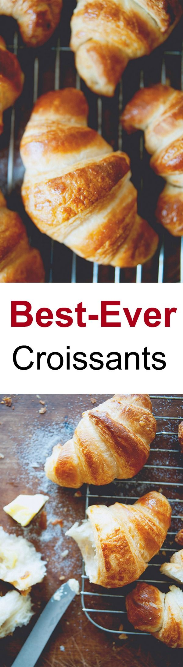 Croissants – Homemade croissants with this easy and fail-proof recipe from @Claire Thomas | rasamalaysia.com