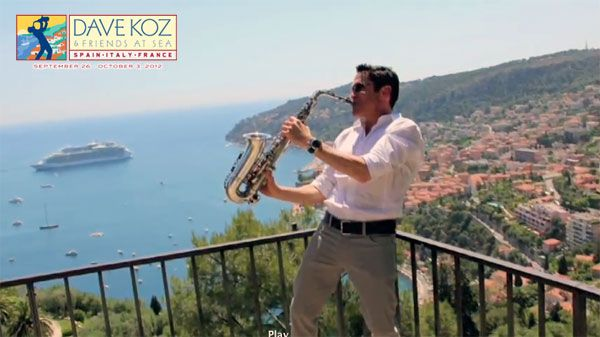 2012 Dave Koz Smooth Jazz Europe Cruise Preview Video