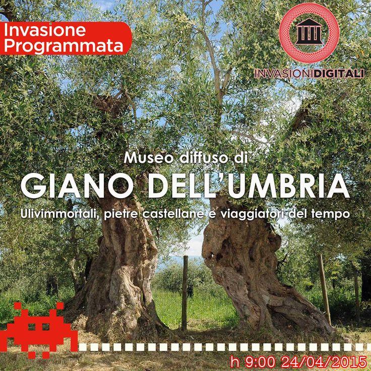 #InvaDiGiano2015 24 Aprile 2015 Museo diffuso di Giano dell'Umbria #invasionidigitali