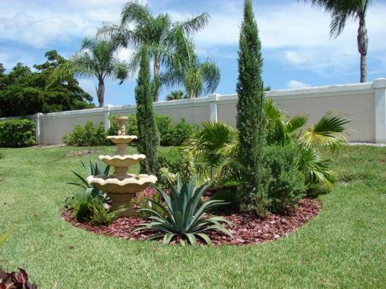 Simple palmen mittelmeer zypresse mediterraner garten anlegen ideen Mediterraner Garten Pinterest