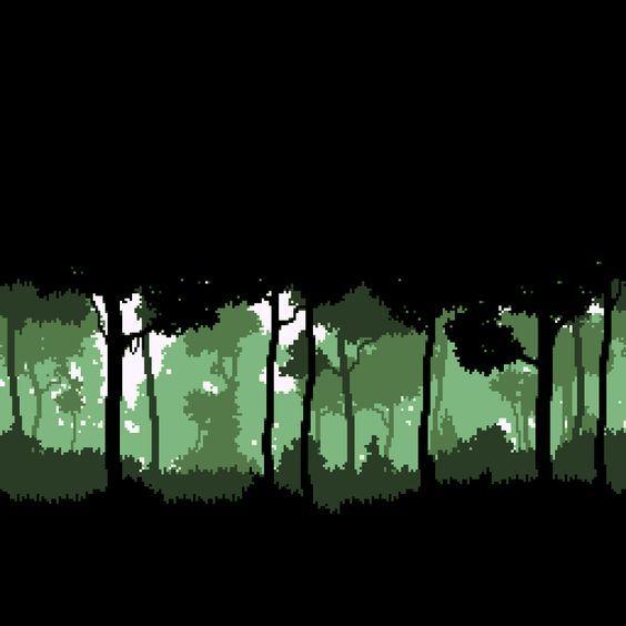 Pixel Art Landscape, Pixel Art