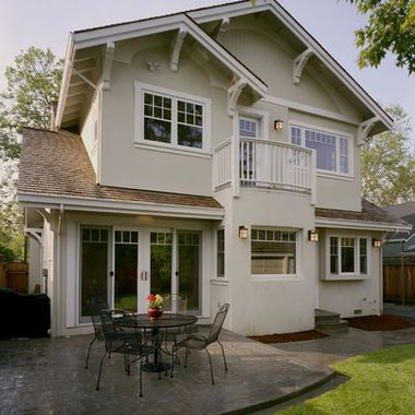 traditional exterior by jca architects window design allows for better view enjoyment