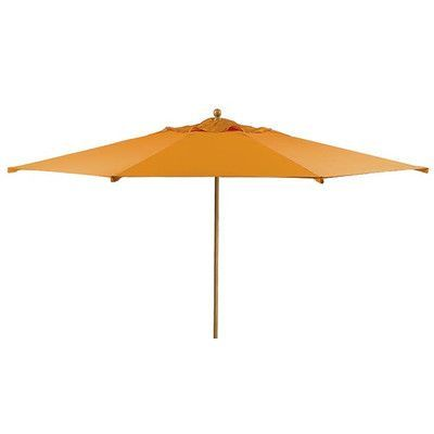 Tropitone Portofino 13.5' Market Umbrella Fabric: Sparkling Water, Frame Finish: Parchment
