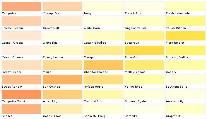 Paint Color Apricot Senour Colors Martin Senour Paint