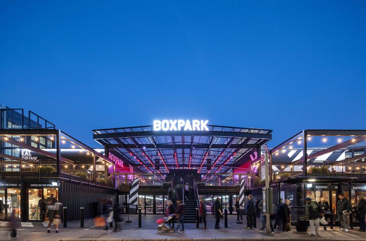 Galería de Boxpark Croydon / BDP - 1