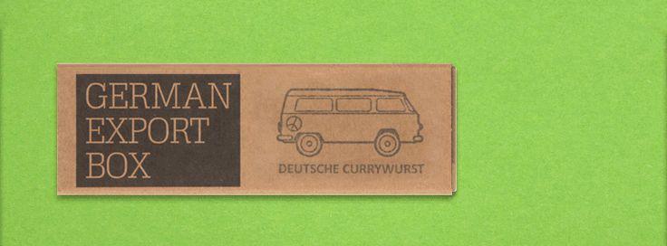 German Export Box - German transporter ;) a typical german souvenir (VW Bulli)