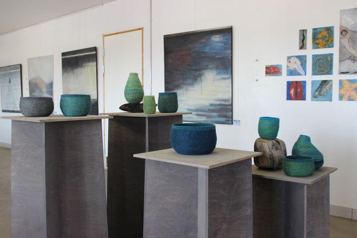 Sea pieces - Læsø Art Festival 2014 - coling / tybrindbinding -  B Maj
