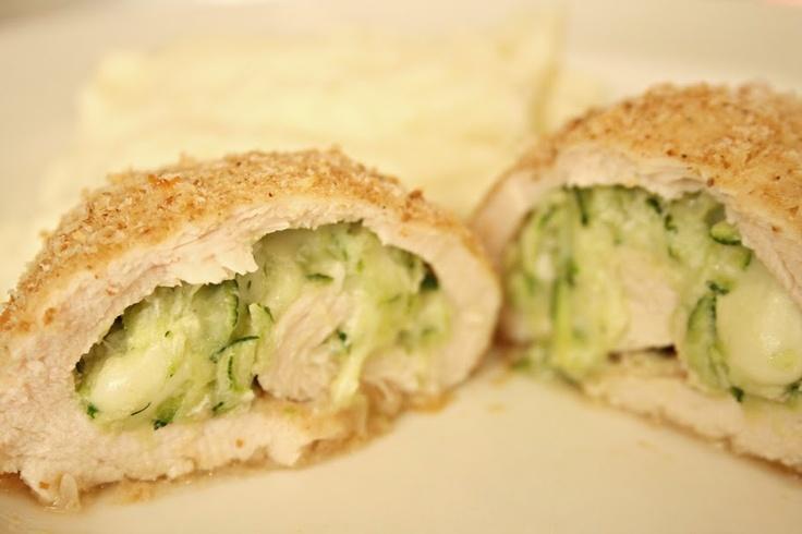 ... version of Chicken Rollatini Stuffed with Zucchini and Mozzarella