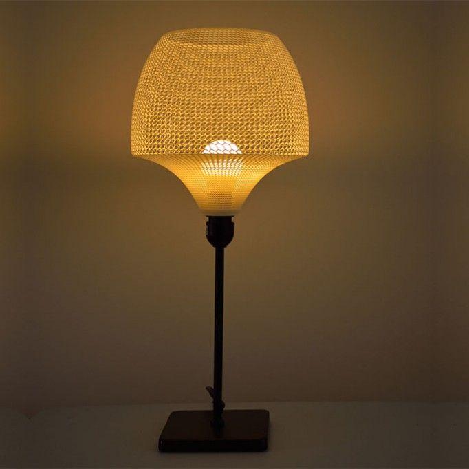 Мода будущего.Светильник, сделанный на 3D принтере.