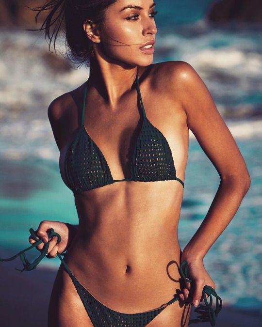 groene bikini
