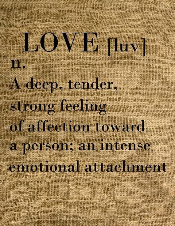 Love Dictionary Definition Love Clipart Instant Download Download And Print Image Transfer Digi Love Dictionary Definition Quotes Meaning Of Love