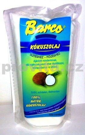 Olej kokosový BARCO-sáček 1L
