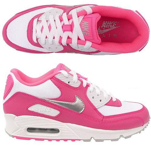 online store 06de6 5bc97 nike air max 90 print gs schuhe farbe pink silber