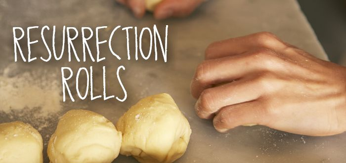 Resurrection Roll Recipe from Lifeway Kids Ministry - Our grandchildren love making them and eating them.