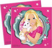 barbie doğum günü kağıt peçete 20 adet