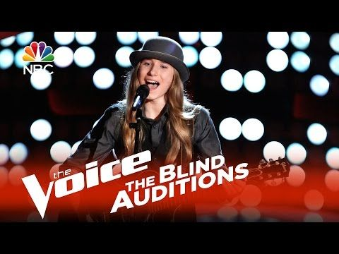 """▶ The Voice 2015 Blind Audition - Sawyer Fredericks: """"I Am a Man of Constant Sorrow"""" - YouTube"""