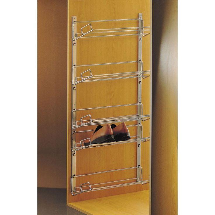 Zapatero alto de fijaci n lateral en una pared o en el for Armario zapatero gran capacidad