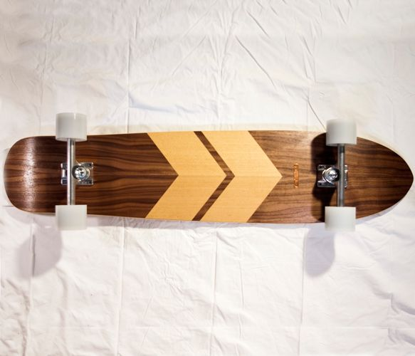 >>Wood Grains, Maple Longboards, Dark Stained, Maple Walnut, Douglas Fir, Skateboards Decks, Products Design, Chevron Longboards Design, Long Boards
