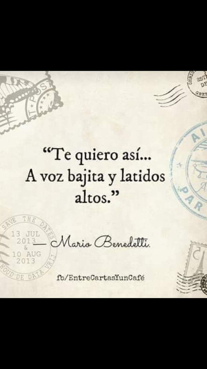 Poema Defensa De La Alegria Mario Benedetti Pin En Good