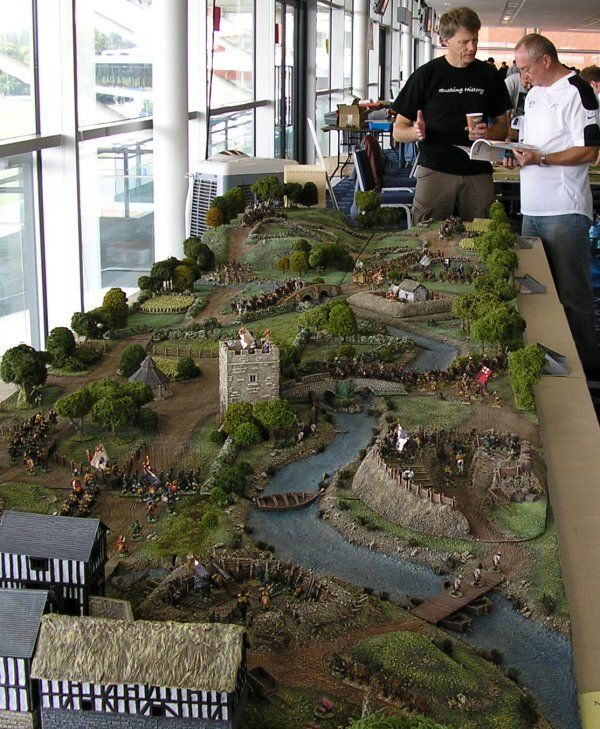WarHammer fantasy board, just an amazing big old table to play on.  Engrossing.