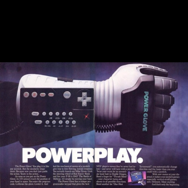 Remember this?! Nintendo Power Glove. #Classic #Throwback