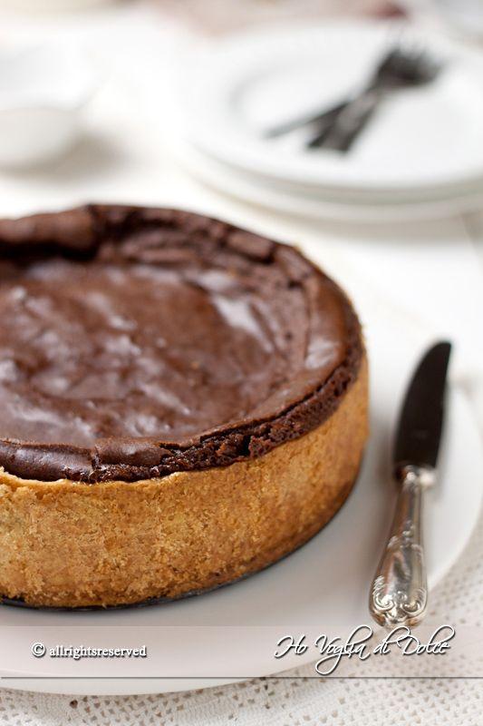 Flan+pâtissier+al+cioccolato